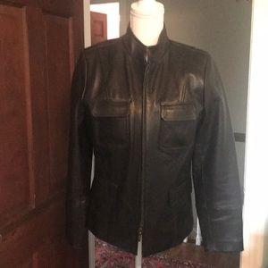Liz Claiborne Jackets & Coats - Sleek leather jacket
